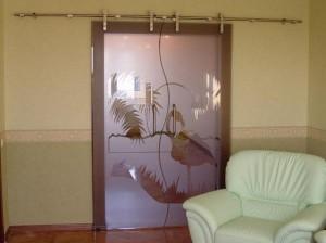 Купить стеклянные двери